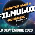 Noaptea Albă a Filmului Românesc are loc pe 18 septembrie