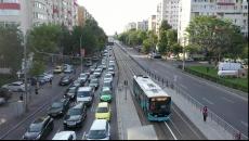 STB extinde banda unică pentru circulaţia autobuzelor pe linia de tramvai
