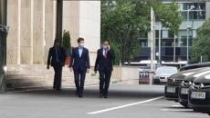 Nicuşor Dan s-a întâlnit cu Ludovic Orban şi Klaus Iohannis